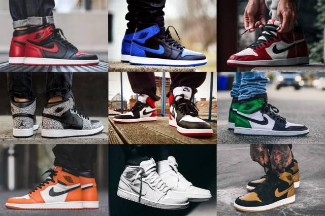 禁穿 黑脚趾 白扣碎轮番炸街 可 MJ 最爱的 AJ1 究竟是哪双