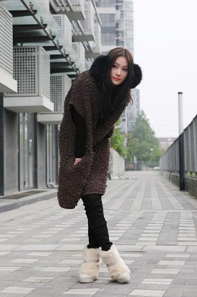 同样是冬季穿衣街拍,为什么范冰冰差张馨予这么多图片